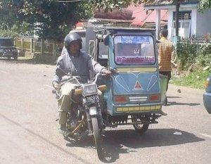 Bentor Pagaralam, Palembang