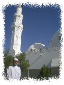 Di Masjid Quba, Masjid Pertama yang dibangun Rasulullah