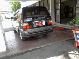 Mobil Dinas Wakil Bupati HSS
