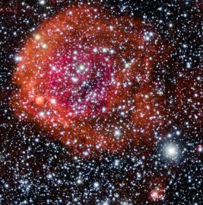 NGC 371 Rosy Star Cluster