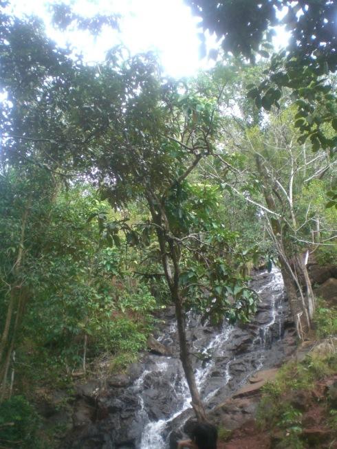 Air Terjun di Bukit Ganal
