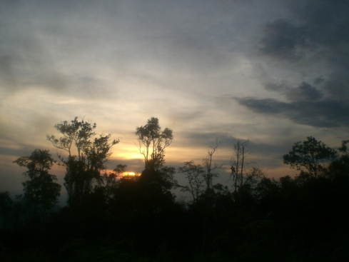 Senja di Bukit Ganal