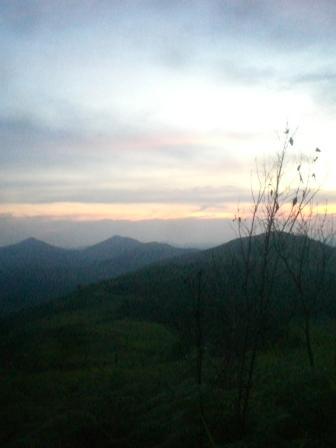 Senja di Pegunungan Meratus