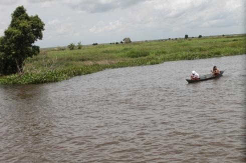 Sungai Nagara (Sumber : Pribadi)