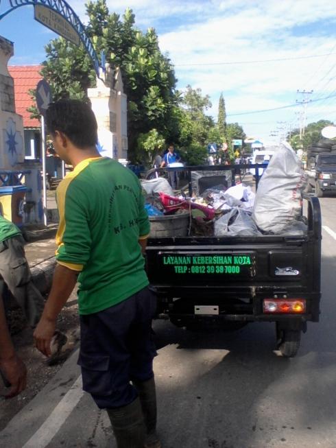 Armada Patroli Kebersihan Roda 3 (Simple, Agresif dan Efektif)