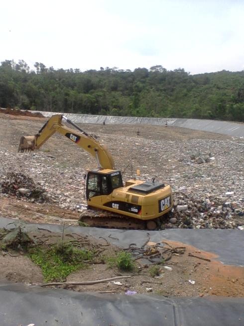 Tempat Pembuangan Akhir (TPA) Sampah yang baru
